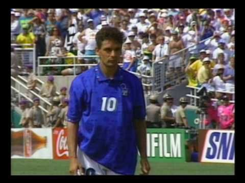 Baggio penalty miss - 1994 World Cup Final