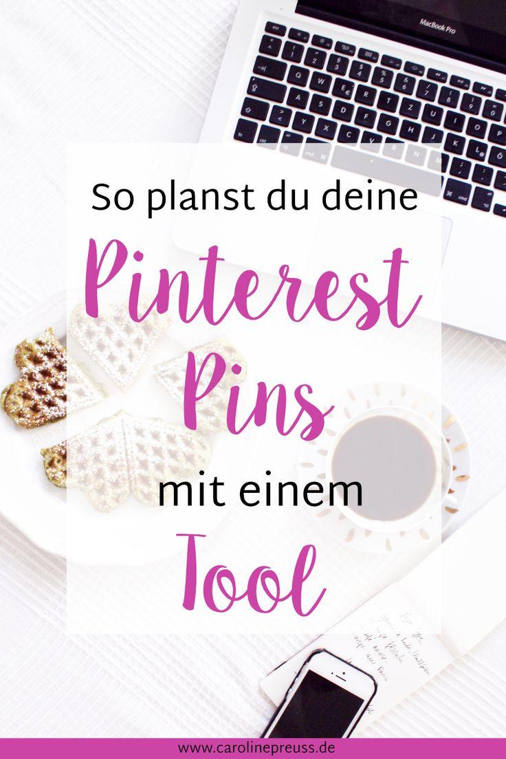 Pinterest Pins strategisch planen: Auf Pinterest kannst du eine Menge Zeit sparen, in dem du deine Pins mit einem Programm strategisch planst. Ich zeig' dir, wie das funktioniert!