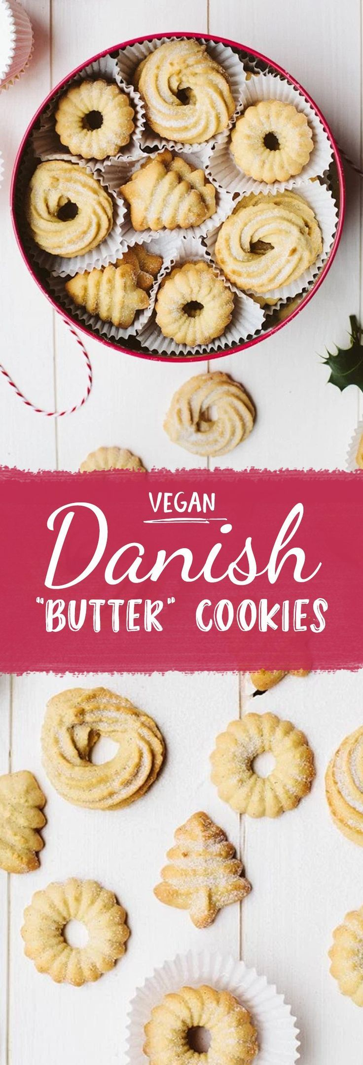 THIS! Not as healthy, but Christmas is coming up and who doesn't enjoy a cruelty free butter cookie? || vegan recipe