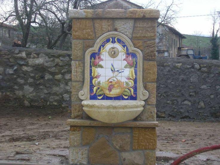 fuente en piedra
