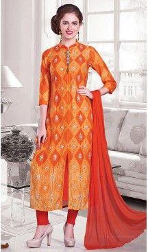 Orange Color Silk Achkan Designer Readymade Salwar Kameez | FH513078116 #salwar, #kameez, #readymade, #anarkali, #patiala, #pakistani, #suits, #online, #stitched, #indian, #dress, #material, #shopping, #fashion, #boutique, #mode, @heenastyle , #designer , #pakistani , #evening , #wedding , #casual , #palazzo , #patiyala , #punjabi , #churidar , #narrow