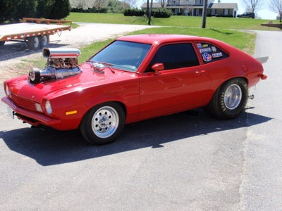 1972 Ford Pinto blown pro street