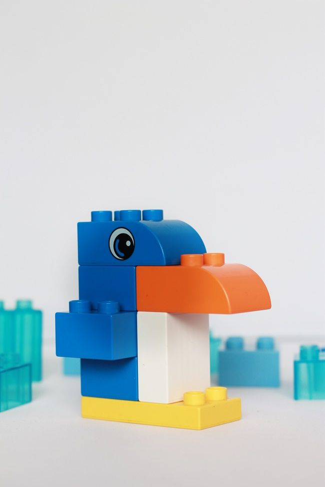 Maje Zmaje INSPIRATION: LEGO Duplo animals