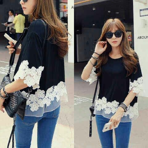 Blouse Lennox @46rb Seri 2pcs, fit L, bhnspdx+renda+tile, ready 4mgg ¤ Order By : BB : 2951A21E CALL : 081234284739 SMS : 082245025275 WA : 089662165803 ¤ Check Collection ¤ FB : Vanice Cloething Twitter : @VaniceCloething Instagram : Vanice Cloe