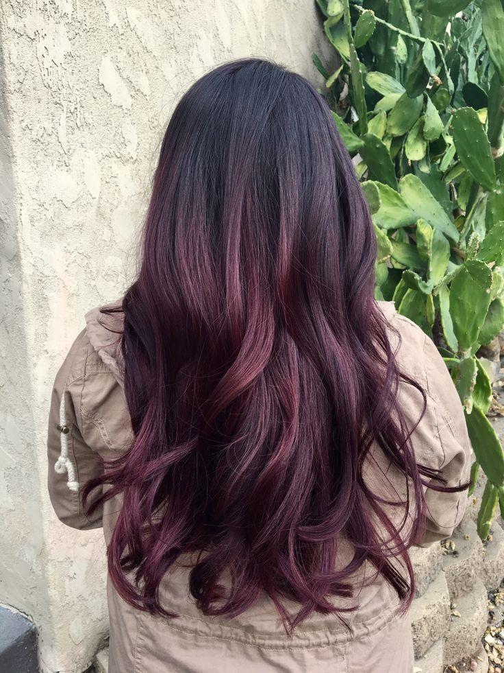 Best 25+ Eggplant hair colors ideas on Pinterest   Deep ...
