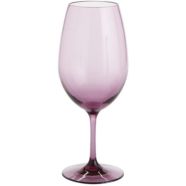 Pier 1 Imports Purple Clarity Acrylic Wine Glass ($6.36) ❤ liked on Polyvore featuring home, kitchen & dining, drinkware, decor, filler, purple, purple wine glasses, acrylic wine glasses, purple wine glass and acrylic drinkware