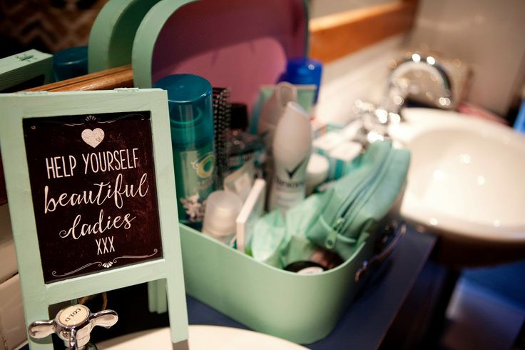 Wedding, bathroom supplies, ladies toilet, seafoam, mint