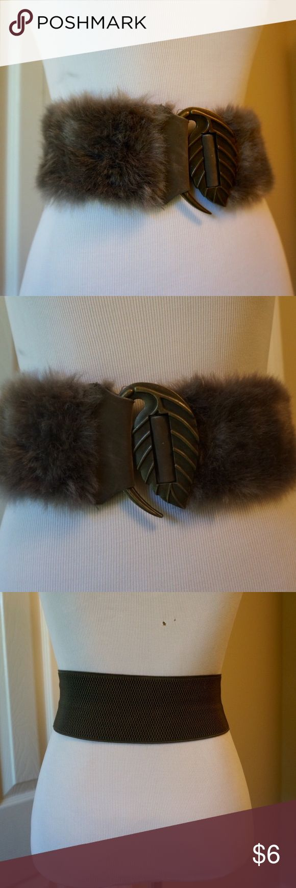 Spotted while shopping on Poshmark: Vintage faux leather belt gray! #poshmark #fashion #shopping #style #Vintage #Accessories