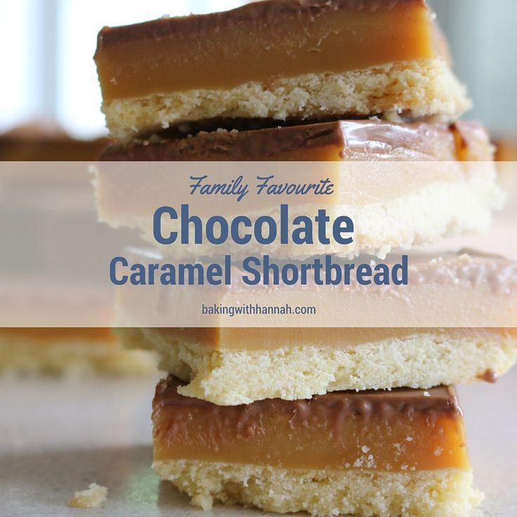 "Chocolate Caramel Shortbread this used to be my ""secret recipe"" that I wouldn't share with anyone it is so good!"