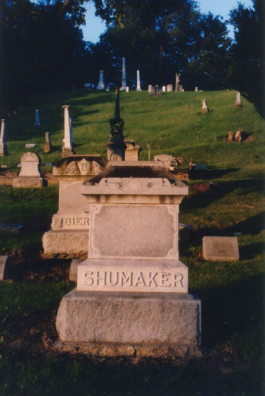 near Lancaster, Fairfield County, OH - Crawfis-Emery Cemetery is located in the front yard of the old Crawfis teacher's college, which is now somebody's home.  Can you imagine your front yard being a supposedly haunted graveyard?