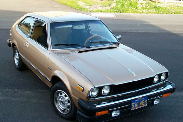 1978 Honda Accord Hatchback LX....learned how to drive on this