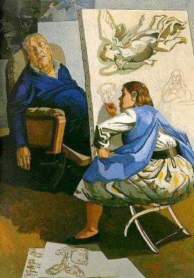 Joseph's Dream, Paula Rego, 1990