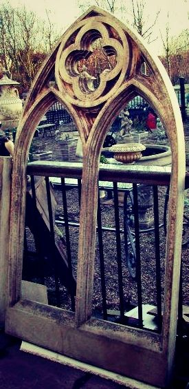 Antique Style Church Gothic Windows Make A Beautiful Interior or Exterior Feature