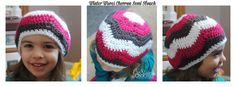 free crochet hat pattern available in baby, toddler, child and adult sizes #cre8tioncrochet