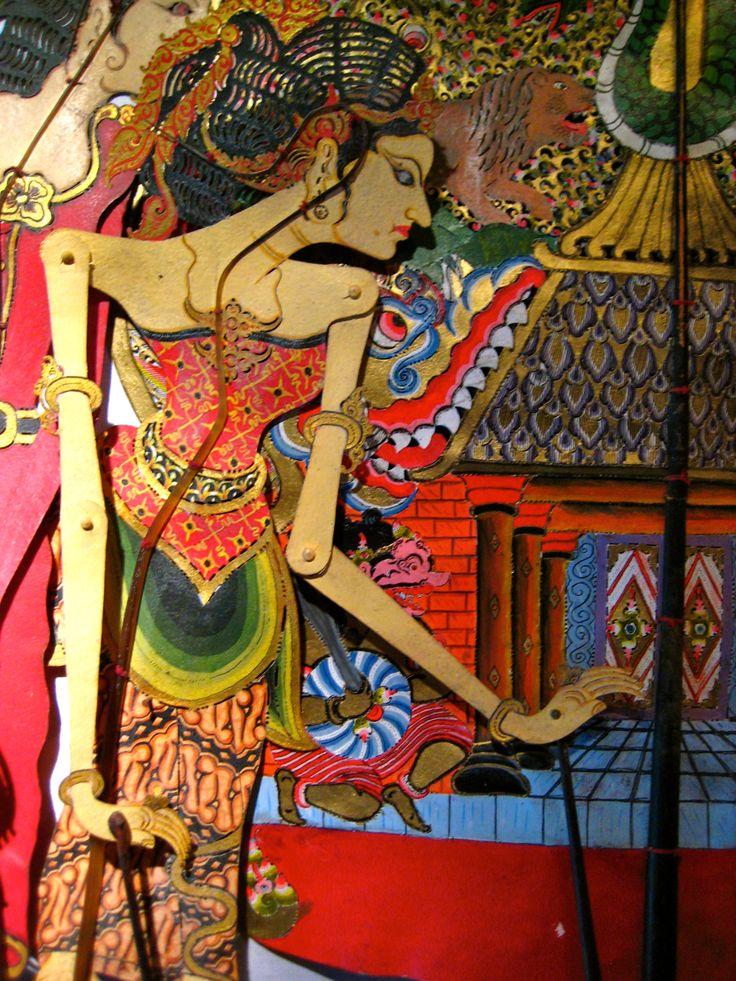 mas, ubud: puppet museum