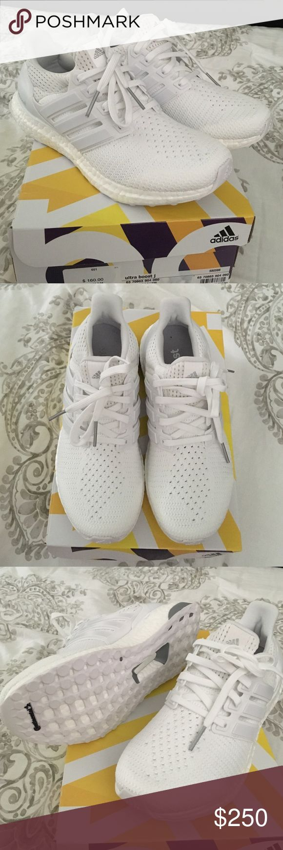 Adidas Ultra Boost All White Triple White 3.0 Mens BA8841 Size: 7 13