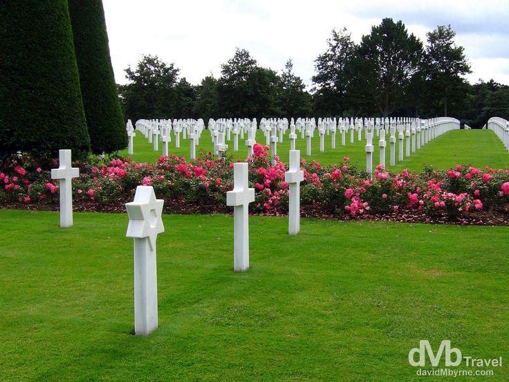 American War Cemetery, Normandy, France | dMb Travel - Travel with davidMbyrne.com