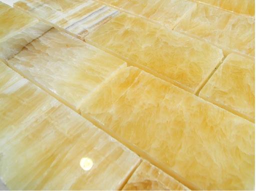polish 2x4 x 8mm brick pattern glass tile home mosaics backsplash