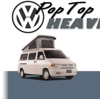 Pop Top Heaven - Welcome - Eurovan Camper, VW Eurovan Camper, Used Camper Van, VW Vanagon Camper