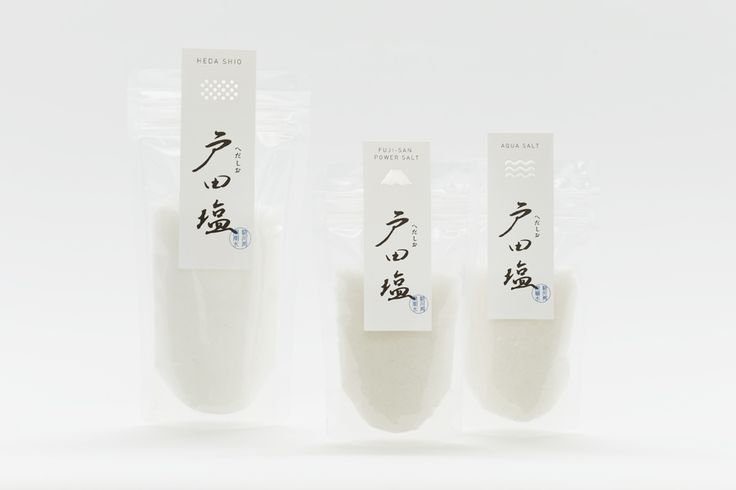 戸田塩 - Daikoku Design Institute beautiful salt #packaging PD