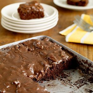 Serve this easy dessert to the chocolate lovers in your family. It's also the perfect recipe for potlucks with a preparation time that's just over 30 minutes.