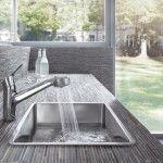 Dřezy a baterie do moderní kuchyně