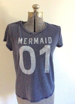 Buy my item on #vinted http://www.vinted.com/womens-clothing/other-tops/22481948-victorias-secret-mermaid-striped-short-sleeve-top