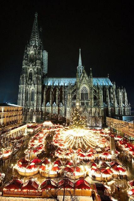 Christmas market, Cologne, Germany