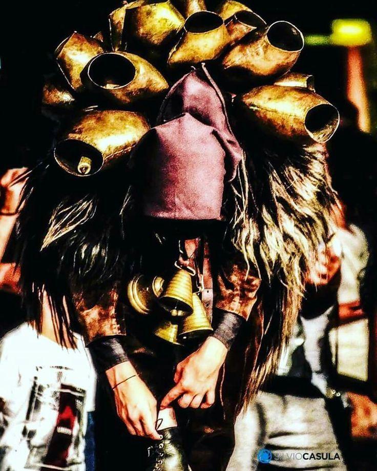Mamuthone di Mamoiada - Nuoro - Tipical mask of Sardinia -