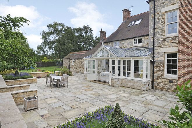 Europe House Of The Day Restored English Farmhouse