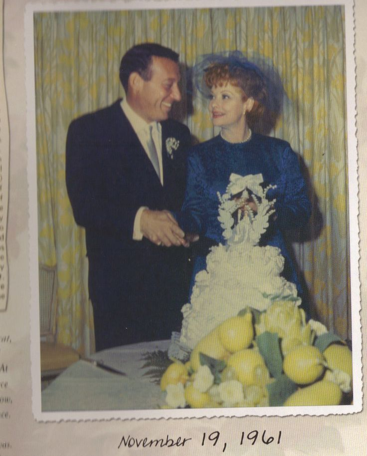 Lucille Ball And Gary Morton