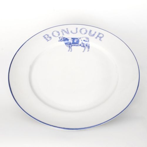 Bonjour Blue Cow Dinner Plate  sc 1 st  Pinterest & 17 best Cows images on Pinterest | Cows Contemporary artists and ...