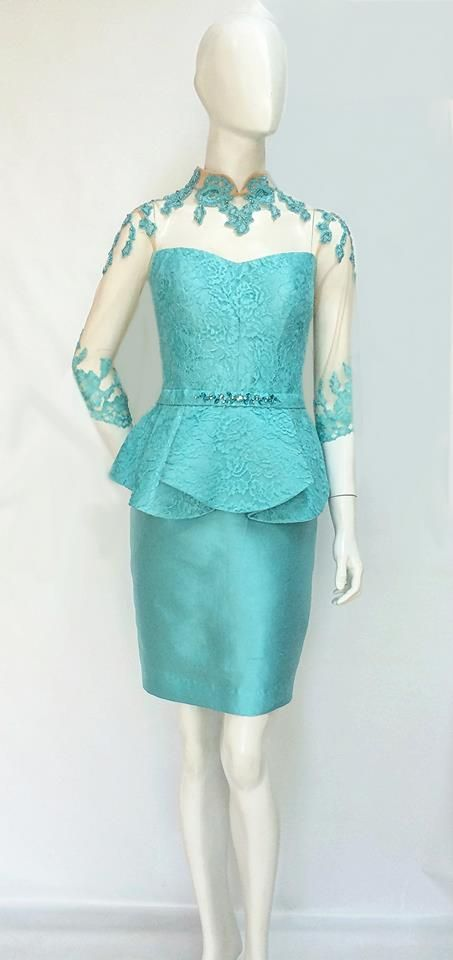 Tiffany Blue Qibao.  For sizing, and ordering details please email us at nmayinda@gmail.com, Whatsapp us at 08111047891, or BB us at 2B07B968. We ship worldwide.