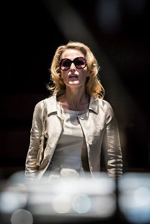 Gillian Anderson in A Streetcar Named Desire at the Young Vic© Johan Persson