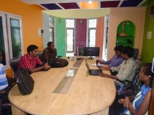 Mock interview Training for Wiztech Students in Wiztech Placement Department