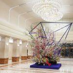 Keio Plaza Hotel Tokyo Hosts Exhibition of Spectacular Ikebana Flower Arrangement by Artist Hiroki Maeno