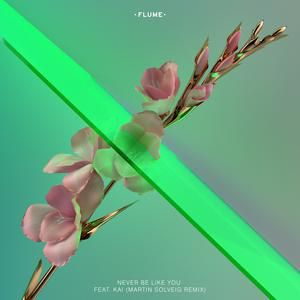 """I'm listening to """"Never Be Like You-Flume"""". Let's enjoy music on JOOX! Click: http://goo.gl/1YQIcb"""