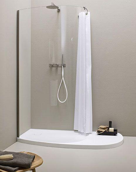 Bagno moderno stile giapponese, Vasche da bagno centro stanza in Korakril - FONTE, REXA