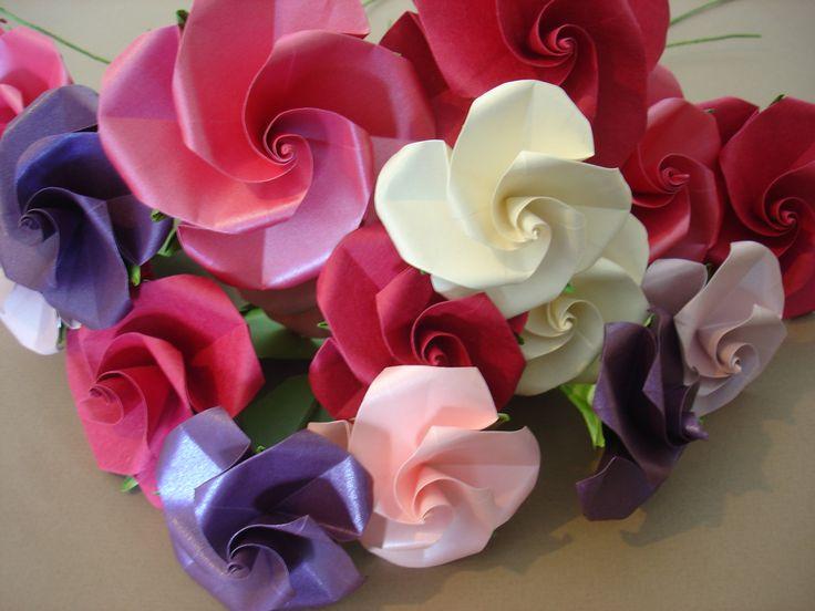 87 melhores imagens de origami rose no pinterest rosa