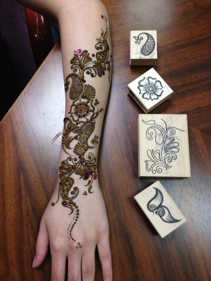 Latest Mehndi Designs By Ash Kumar : Ash kumar stencils henna mehndi designs pinterest