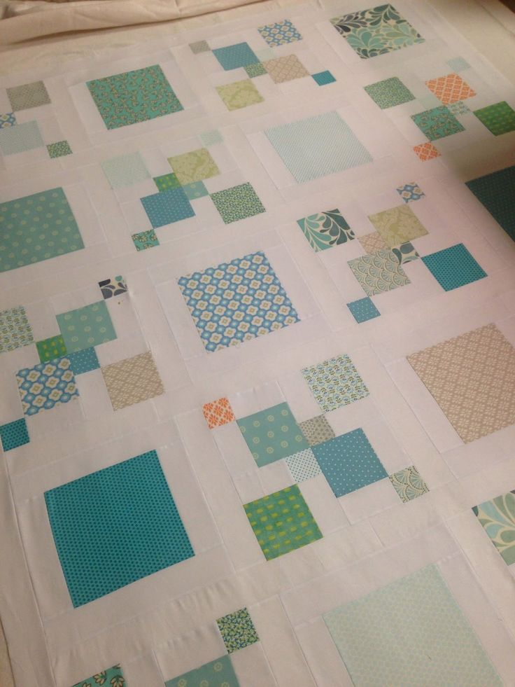 This quilt has taken sooo much longer than I thought it would! It's partly that we found out we were moving and so a couple of weeks were s...
