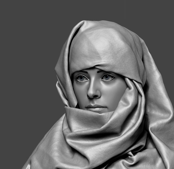 Hijab, Eugene Fokin on ArtStation at http://www.artstation.com/artwork/hijab-324d3fbd-7117-4943-bf8d-682a21cab575
