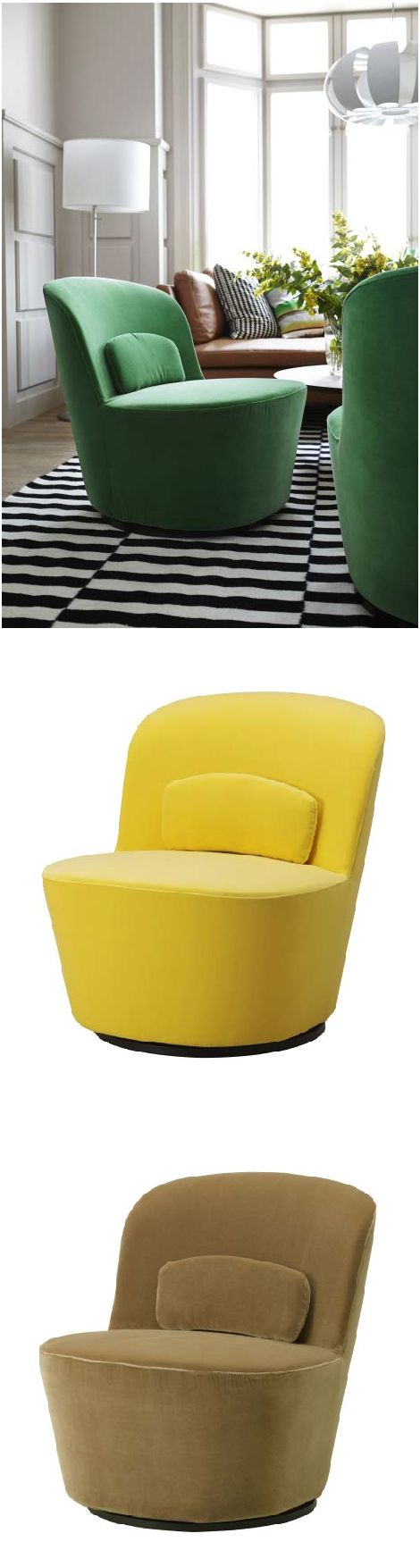 Stockholm Swivel Chair Sandbacka Green Receptions Armchairs And Stockholm