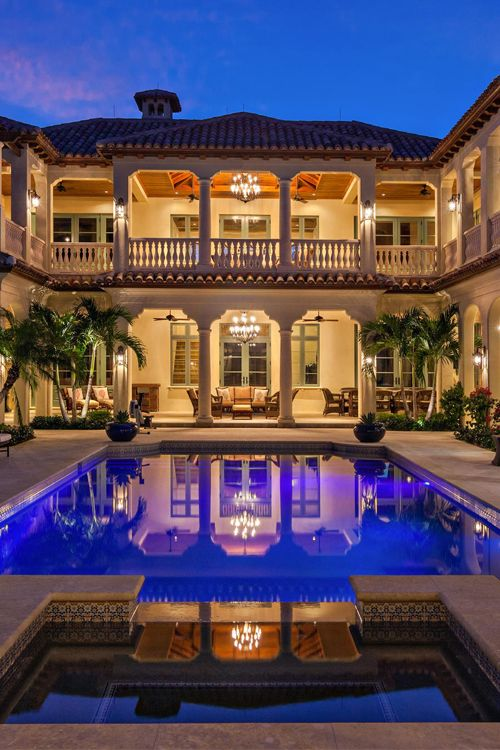 luxury estate ladyluxury pool mansion