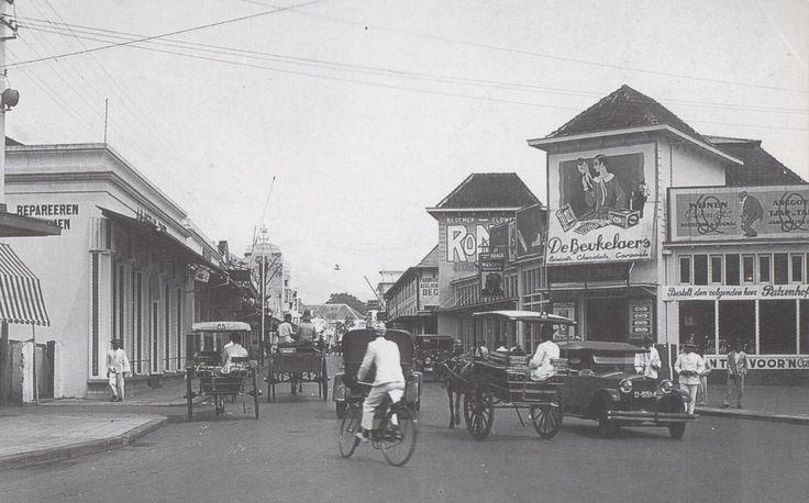 Bandung Heritage. Jalan Braga 1935