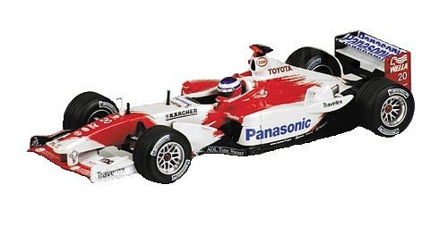 1-43 Scale 1:43 Minichamps Toyota TF03 - O. Panis Toyota TF03 That powered Olivier Panis in the 2003 season http://www.comparestoreprices.co.uk/formula-1-cars/1-43-scale-143-minichamps-toyota-tf03--o-panis.asp