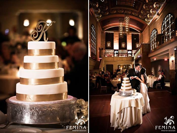 Gold Wedding Details Union Trust Wedding Venue In Philadelphia