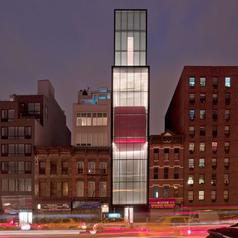 A New York gallery by Foster + Partners is one of four buildings shortlisted for this year's RIBA Lubetkin Prize