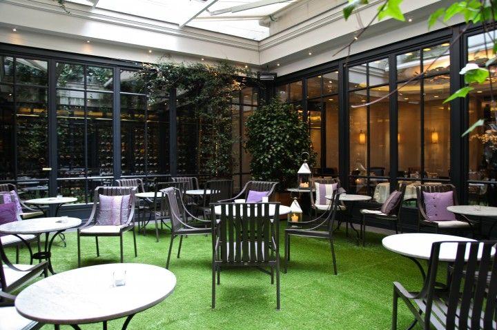 29 best images about restaurant bar le baudelaire on for Restaurant paris jardin