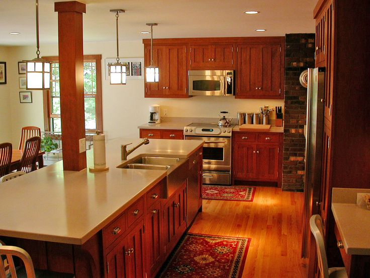 how to connect electricity and plumbing to kitchen island